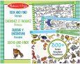 Melissa & Doug Seek & Find Sticker Pad – Animal