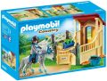 Playmobil 6935 Horse Stable with Appaloosa