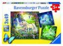 Ravensburger Beautiful Unicorns 3x49pc