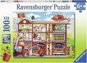 Ravensburger Firehouse Frenzy 100pc