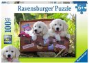 Ravensburger Puzzle 100pc – Traveling Pups
