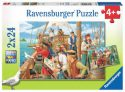 Ravensburger With The Pirates 2x24pc