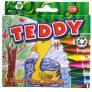 Teddy 9 Jumbo Wax Crayons
